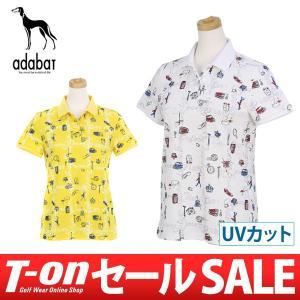 【40%OFFセール】 アダバット adabat ポロシャツ ゴルフウェア レディース