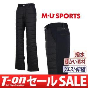 【30%OFFセール】パンツ メンズ MUスポーツ MU SPORTS 2017 秋冬 ゴルフウェア t-on