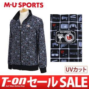 【30%OFFセール】2017 秋冬 MUスポーツ MU SPORTS トラックジャケット ゴルフウェア メンズ t-on