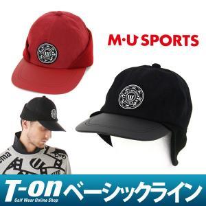 キャップ メンズ MUスポーツ MU SPORTS 2017 秋冬 ゴルフ t-on