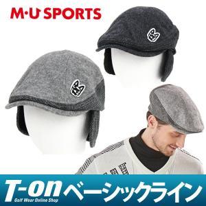 ハンチング帽 メンズ MUスポーツ MU SPORTS 2017 秋冬 ゴルフ t-on