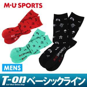 2017 秋冬 MUスポーツ MU SPORTS ハイソックス メンズ t-on