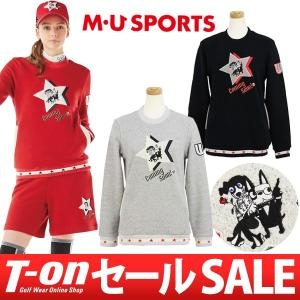 トレーナー レディース MUスポーツ MU SPORTS 2017 秋冬 ゴルフウェア t-on