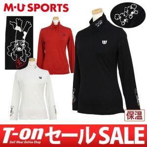 ハイネックシャツ レディース MUスポーツ MU SPORTS 2017 秋冬 ゴルフウェア t-on