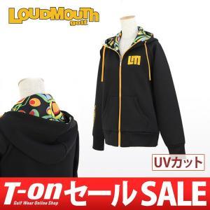 ラウドマウス ゴルフ 日本正規品 日本規格 LOUDMOUTH GOLF パーカー ゴルフウェア レディース|t-on