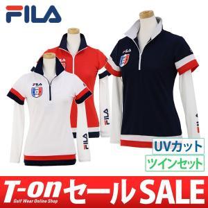 ポロシャツ&インナーシャツ レディース フィラゴルフ FIL...