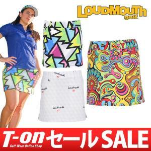 ラウドマウス ゴルフ 日本正規品 日本規格 LOUDMOUTH GOLF スカート ゴルフウェア レディース|t-on