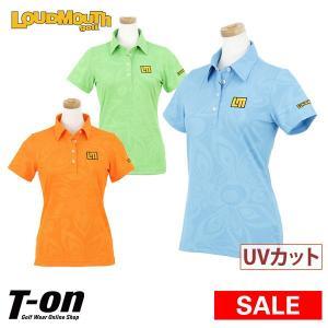 ラウドマウス ゴルフ 日本正規品 日本規格 LOUDMOUTH GOLF 半袖ポロシャツ ゴルフウェア レディース|t-on