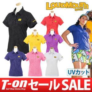 ラウドマウス ゴルフ 日本正規品 日本規格 LOUDMOUTH GOLF 半袖ポロシャツ レディース|t-on