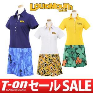 ラウドマウス ゴルフ 日本正規品 LOUDMOUTH GOLF 半袖ワンピース ゴルフウェア レディース|t-on