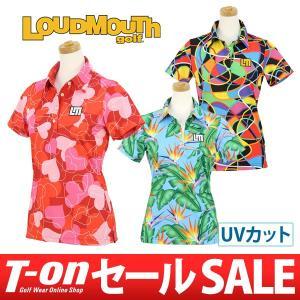 ラウドマウスゴルフ 日本正規品 日本規格 LOUDMOUTH GOLF ポロシャツ ゴルフウェア レディース|t-on