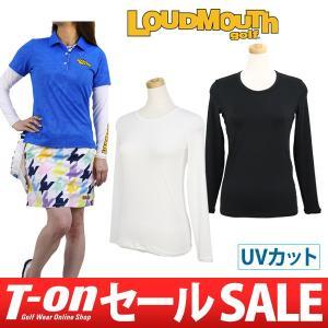 ラウドマウス ゴルフ 日本正規品 日本規格 LOUDMOUTH GOLF インナーシャツ ゴルフウェア レディース|t-on