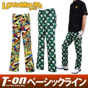 ロングパンツ メンズ ラウドマウス ゴルフ LOUDMOUTH GOLF 日本正規品 日本規格 2018 春夏新作 ゴルフウェア|t-on