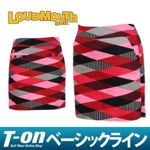 スカート レディース ラウドマウス ゴルフ LOUDMOUTH GOLF 日本正規品 日本規格 2017 秋冬 ゴルフウェア|t-on