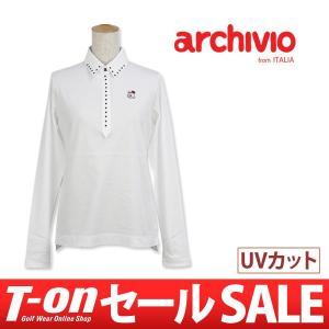【50%OFFセール】アルチビオ archivio ポロシャツ レディース ゴルフウェア t-on