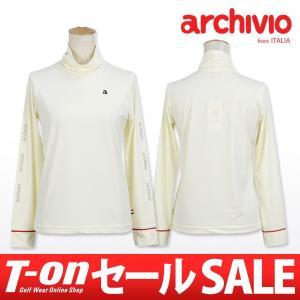 【50%OFFセール】アルチビオ archivio タートルネックシャツ レディース ゴルフウェア t-on