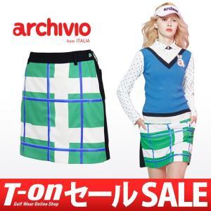 【30%OFFセール】アルチビオ archivio インナーパンツ一体型スカート レディース ゴルフウェア t-on
