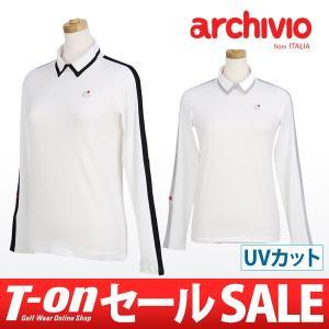 【30%OFFセール】アルチビオ archivio 長袖ポロシャツ ゴルフウェア t-on