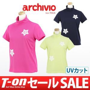【30%OFFセール】アルチビオ archivio ハイネックシャツ ゴルフウェア レディース t-on