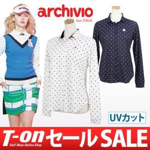 【30%OFFセール】アルチビオ archivio カジュアルシャツ ゴルフウェア レディース t-on