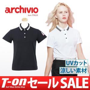 【30%OFFセール】アルチビオ archivio 半袖ポロシャツ ゴルフウェア レディース t-on
