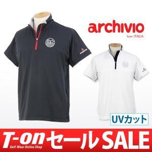 【40%OFFセール】アルチビオ archivio 半袖ポロシャツ ゴルフウェア メンズ t-on