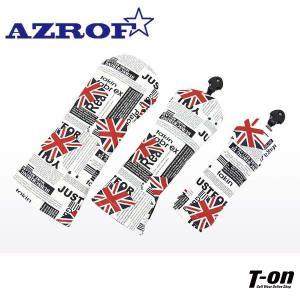 アズロフ AZROF ドライバー用フェアウェイ用ユーティリティ用ソフトヘッドカバー|t-on