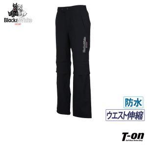 レインパンツ メンズ ブラック&ホワイト Black&White   ゴルフウェア