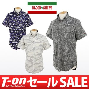 【60%OFFセール】ブラッドシフト BLOOD SHIFT ポロシャツ ゴルフウェア メンズ|t-on