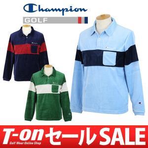 【30%OFFセール】ポロシャツ メンズ チャンピオン ゴルフ Champion GOLF 日本正規品 2017 秋冬 ゴルフウェア t-on