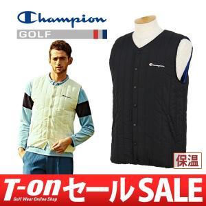 【30%OFFセール】ベスト メンズ チャンピオン ゴルフ Champion GOLF 日本正規品 2017 秋冬 ゴルフウェア t-on