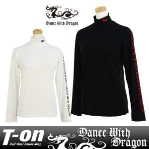 長袖ハイネックシャツ レディース ダンス ウィズ ドラゴン DANCE WITH DRAGON 2017 秋冬 新作 ゴルフウェア|t-on
