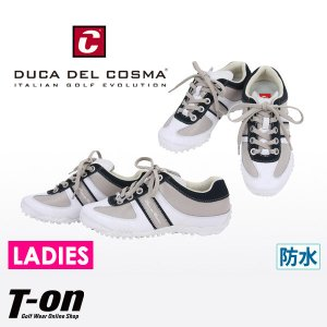 デュカデルコスマ 日本正規品 DUCA DEL COSMA ゴルフシューズ レディース|t-on