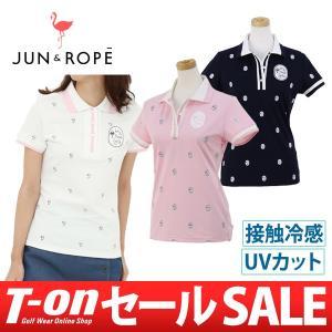 ポロシャツ レディース ジュン&ロペ JUN&ROPE 20...