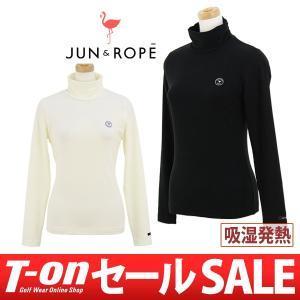 長袖ハイネックシャツ レディース ジュン&ロペ JUN&ROPE 2017 秋冬 ゴルフウェア|t-on