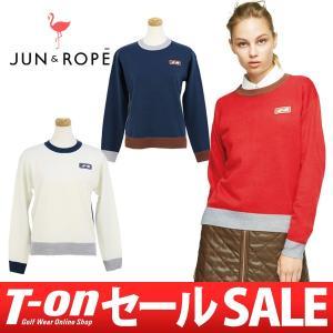 【30%OFFセール】セーター レディース ジュン&ロペ JUN&ROPE 2017 秋冬 ゴルフウェア|t-on