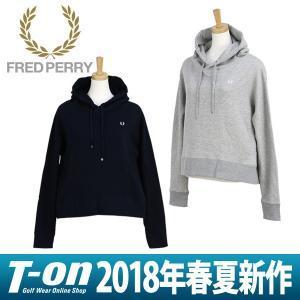 パーカー レディース フレッドペリー FRED PERRY 日本正規品 2018 春夏 ゴルフウェア|t-on