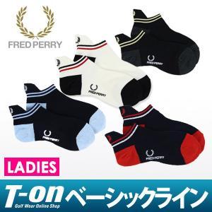 フレッドペリー 日本正規品 FRED PERRY ソックス レディース|t-on