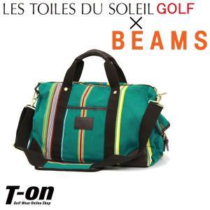 ボストンバッグ レディース メンズ レ・トワール・デュ・ソレイユ LES TOILES DU SOLEIL GOLF×BEAMS 日本正規品 ゴルフ|t-on