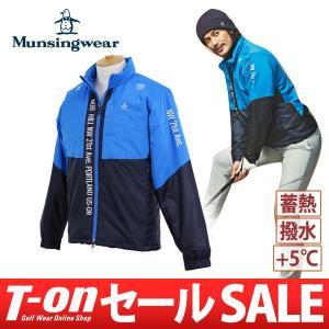 【30%OFFセール】ブルゾン メンズ マンシングウェア Munsingwear 2017 秋冬 ゴルフウェア|t-on