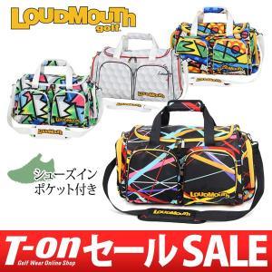 ラウドマウス ゴルフ 日本正規品 LOUDMOUTH GOLF ボストンバッグ メンズ レディス|t-on
