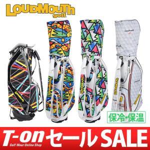 ラウドマウス ゴルフ 日本正規品 LOUDMOUTH GOLF スタンド式キャディバッグ メンズ レディース|t-on