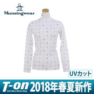 長袖ハイネックシャツ レディース マンシングウェア Muns...