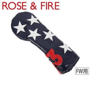 ローズ&ファイア ROSE&FIRE フェアウェイウッド用ヘッドカバー メンズ レディース|t-on
