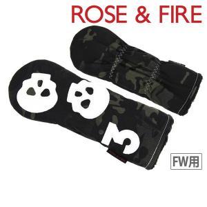 フェアウェイウッド用ヘッドカバー メンズ レディース ローズ&ファイア 日本正規品 ROSE&FIRE 2018 春夏 ゴルフ|t-on