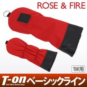 ローズ&ファイア 日本正規品 ROSE&FIRE ドライバー用ヘッドカバー メンズ レディース|t-on