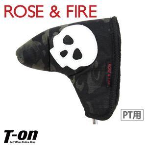ピン型パターカバー メンズ レディース ローズ&ファイア ROSE&FIRE 2018 春夏 ゴルフ|t-on