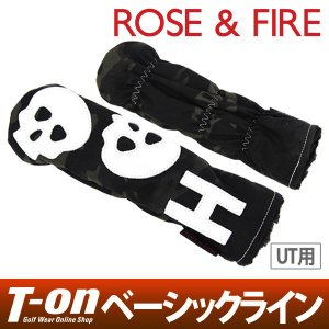 ユーティリティ用ヘッドカバー メンズ レディース ローズ&ファイア 日本正規品 ROSE&FIRE 2018 春夏 ゴルフ|t-on