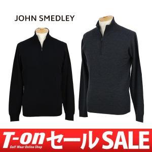 セーター メンズ ジョンスメドレー JOHN SMEDLEY 日本正規品 2017 秋冬 ゴルフウェア|t-on