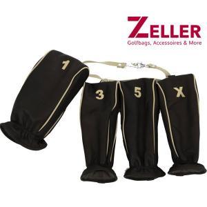 ツェラーゴルフ ZELLER GOLFBAGS 4点セットヘッドカバー|t-on